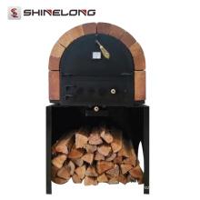 K123 horno de pizza de fuego de madera respetuoso del medio ambiente comercial
