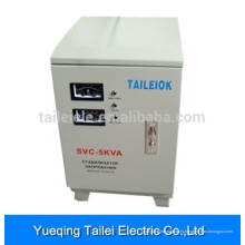 SVC-5000W Regulador del estabilizador de voltaje del servo motor de la CA monofásico para el acondicionador de aire