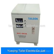 SVC-5000W AC monofásico servo motor regulador estabilizador de tensão para ar condicionado