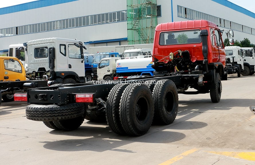 water tank truck chassis 2