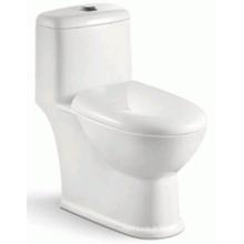 Prix concurrentiel Salle de bain Toilette à une pièce Siphon pour le marché du Brésil (6206)