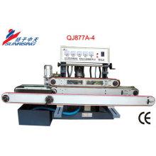 прямой линии кромки стекла machineQJ877A-4 может обрабатывать толщиной 30 мм