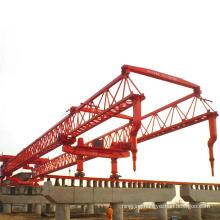 Highway and railyway bridge beam launcher crane