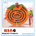 Fruit Shaped Wooden Magnetic Maze for Educational Toys
