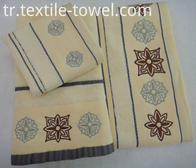 Decorative Bath Towel Collection