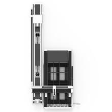 Máquina de corte a laser para tubo de metal e folha