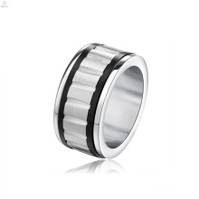 Simple Statement Men Jewelry Rotating Gear Ring