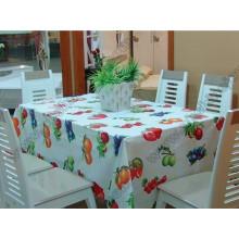 Tissu de table imperméable PEVA / PVC