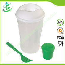 Salat Shaker Cup mit benutzerdefinierten Logo und Farbe