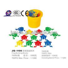 JQ1100 Beste Weihnachtsgeschenke Kinder ungiftig Diy Intelligent Plastic Baustein Spielzeug