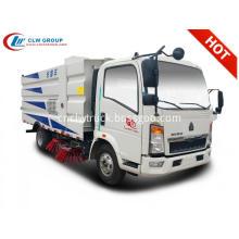 2019 new Sinotruck Howo 5cbm runway sweeper truck