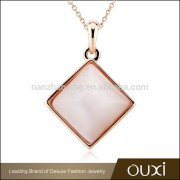 OUXI luxury costume fashion opal shell jewelry portugal