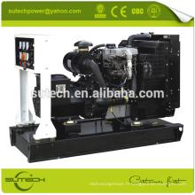 En stock! Générateur diesel silencieux 20KW avec commutateur de transfert automatique
