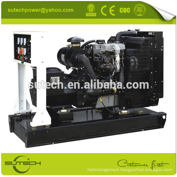 50Kw/62.5Kva electric diesel generator set, powered by 1104A-44TG1engine