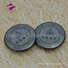 Insignia del perno del brillo de la ropa del perno de la lata de la alta calidad con insignia