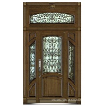 Itália Armored Steel Door Door Door China Fornecedor (D4017)