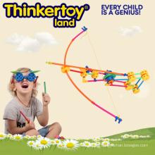 2015 Neue Plastikspielzeug-Bausteine für Pädagogik und Lernen