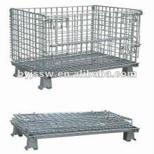 cage de stockage cage de maille métallique avec tous les équipements