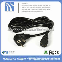 AC POWER CORD european CABLE 220V FOR COMPUTER