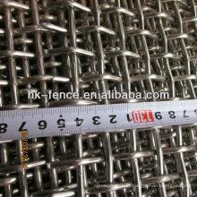 Malha de arame de crimpagem de alta qualidade / tela agregada