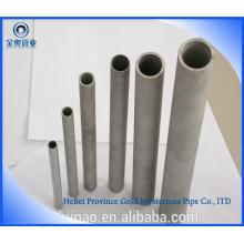 42CrMo tubería de acero sin soldadura laminada en frío y tubo de acero 4142