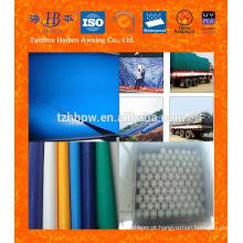 0.45mm PVC revestido Tarpaulin para a tampa do caminhão Feito em China