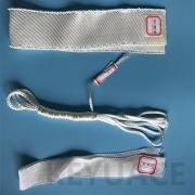 Proof Insulation Ceramic Fiber Cloth High Silica Sleeve