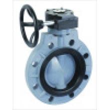 Пластиковые дисковые поворотные затворы, дисковые поворотные затворы ХПВХ / DIN / ANSI / JIS