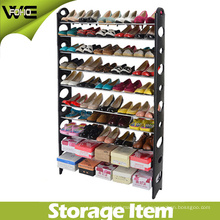 Adjustbale Free Standing hasta 50-Pair Shoe Tower Space Rack Organizer