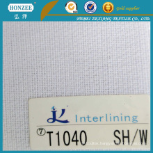 Woven Fusible Interlining for Sport Cap