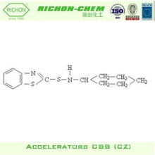 Rubber Auxiliary Agents Usage and Chemical Auxiliary Agent CAS NO.95-33-0 Rubber Accelerator CZ