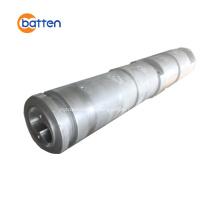 Conical twin screw barrel for PVC foam board