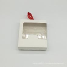 Boite en papier kraft avec emballage personnalisé
