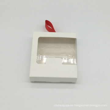 Caja de papel de Kraft plegable del diseño de encargo del marrón