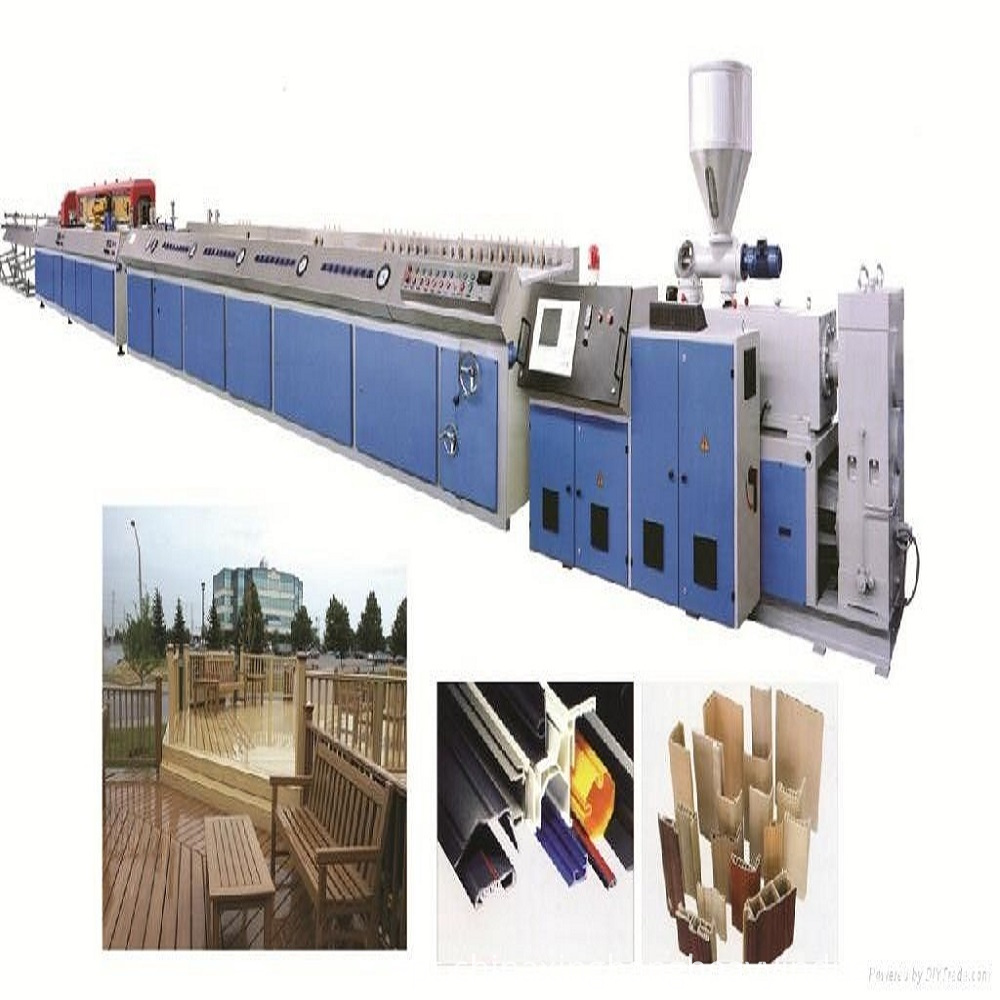 Wood Plastic Pallet Profile Production Line