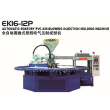 Slipper PVC Air Blow Máquina de moldeo por inyección