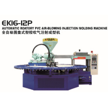 Slipper PVC Air Blow Injection Molding Machine