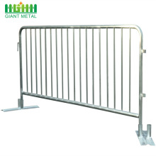 Pedestrian Murah Digunakan Galvanized Metal Crowd Control Barrier