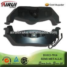 D1012-7916 OE qualidade auto peças travão Pad para Lincoln carro (OE NO.:4L3Z-2200-AB)