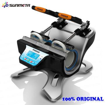 Máquina caliente de la prensa de la taza de la Doble-estación de la llegada de Sunmeta 2015 ST-210