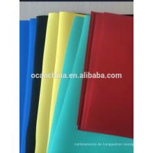 Undurchsichtiges und transparentes farbiges steifes Plastik PVC Blatt oder Film