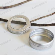 Frasco de alumínio 80g para embalagens artesanais