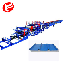 Eps sandwich panel roll membentuk mesin