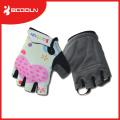 Los guantes de ciclo al aire libre baratos de la aptitud de los niños protegen con estilo con el apretón del silicio