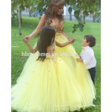Алиэкспресс горячая распродажа длина пола видеть сквозь девочка свадебное платье