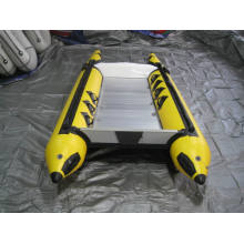 Bateau de vitesse de pêche de Chine avec plancher en aluminium
