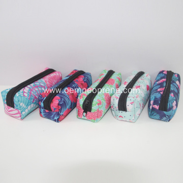 Custom waterproof neoprene pencil bags for students