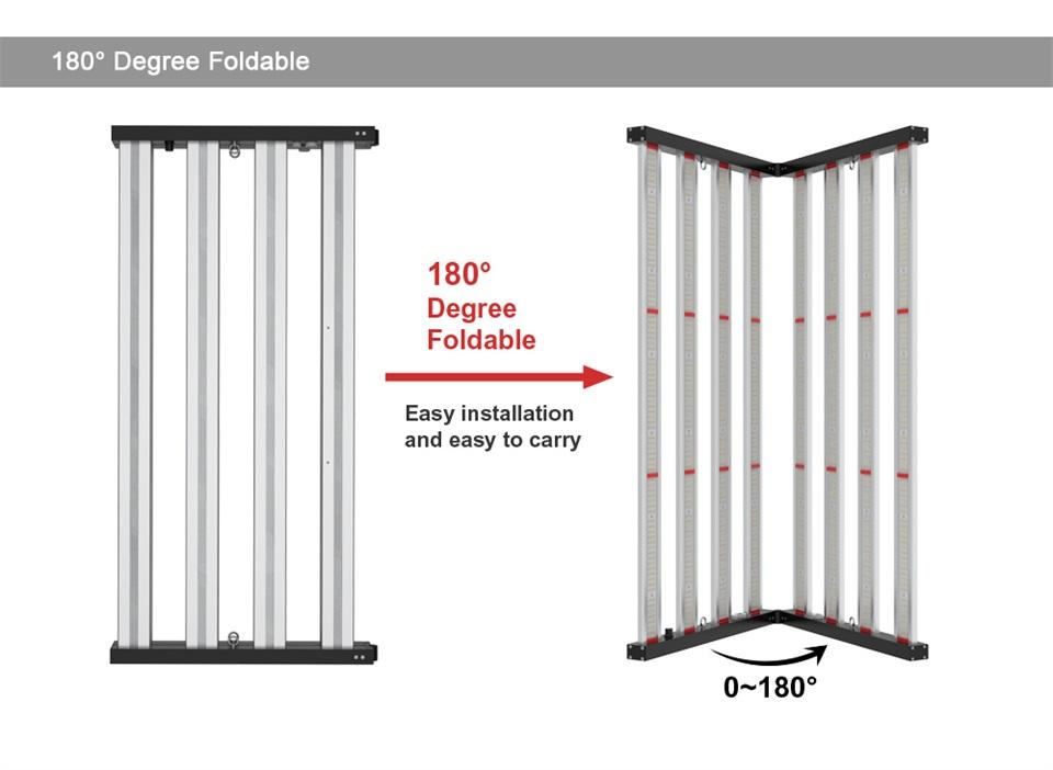 600W Folding LED Grow Light-06