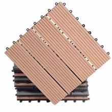 wpc composite engineered flooring interlocking composite deck tiles