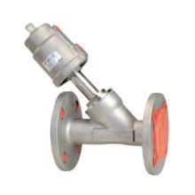 Flang angle seat valve